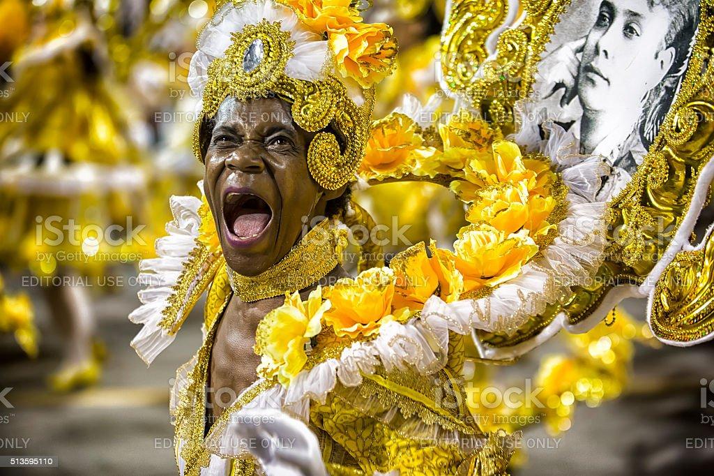 Carnival Samba Dancer Brazil stock photo