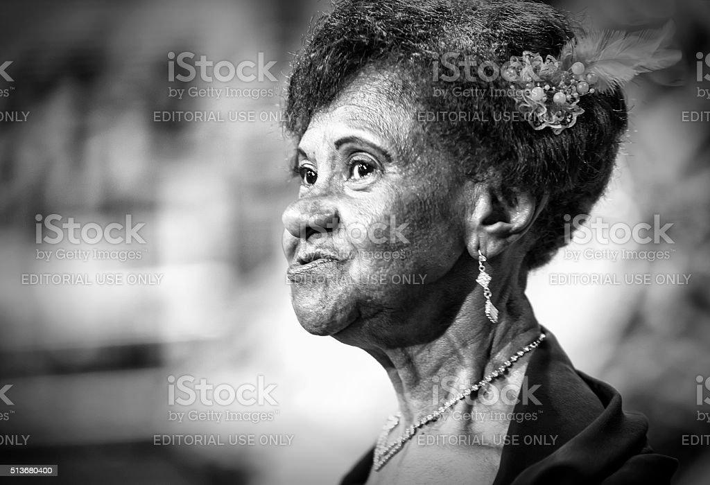 Carnival Samba Dancer Brazil Portrait stock photo