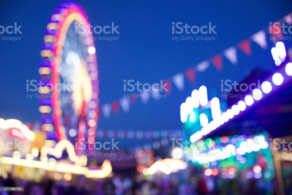Carnival Scene stock photo