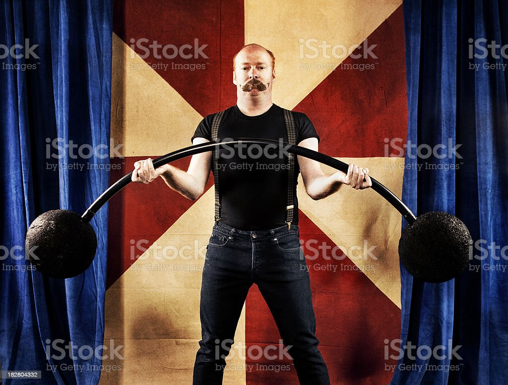 Carnival Series: Strong Man stock photo