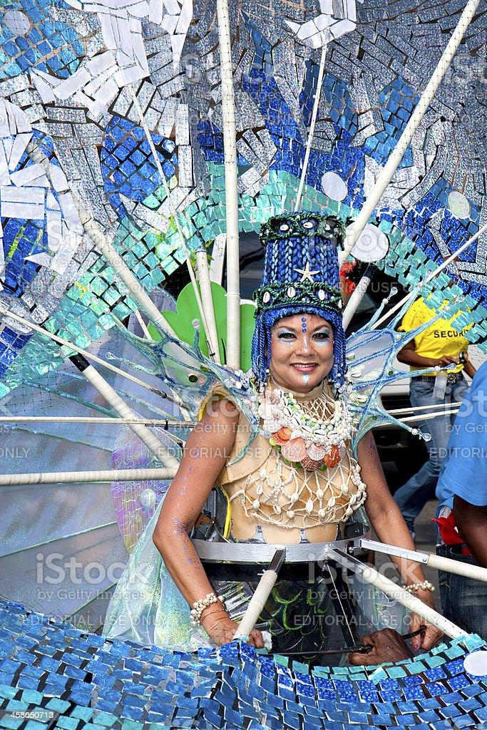 carnival shells royalty-free stock photo