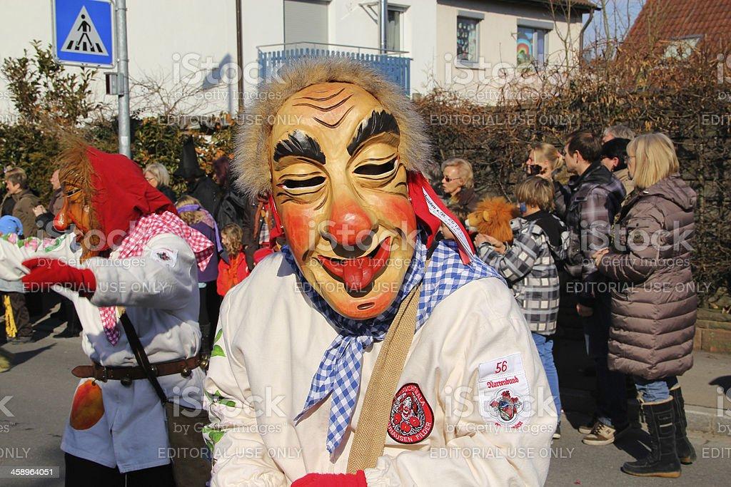 Carnival streets parade. royalty-free stock photo