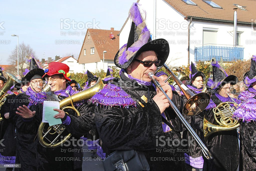 Carnival streets parade. stock photo
