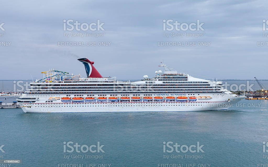 Carnival Sunshine stock photo