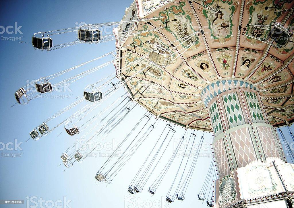 Carnival Swing stock photo