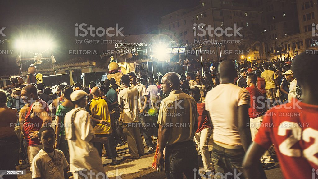 Carnival time. stock photo
