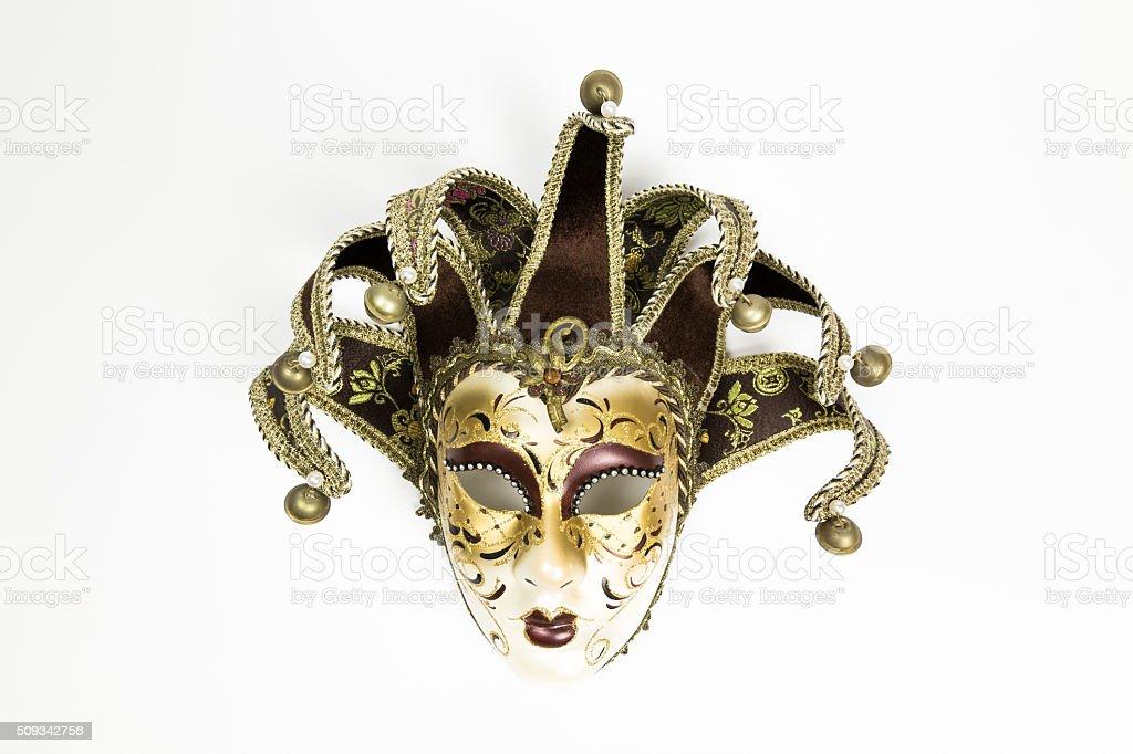 Carnival Venetian mask stock photo