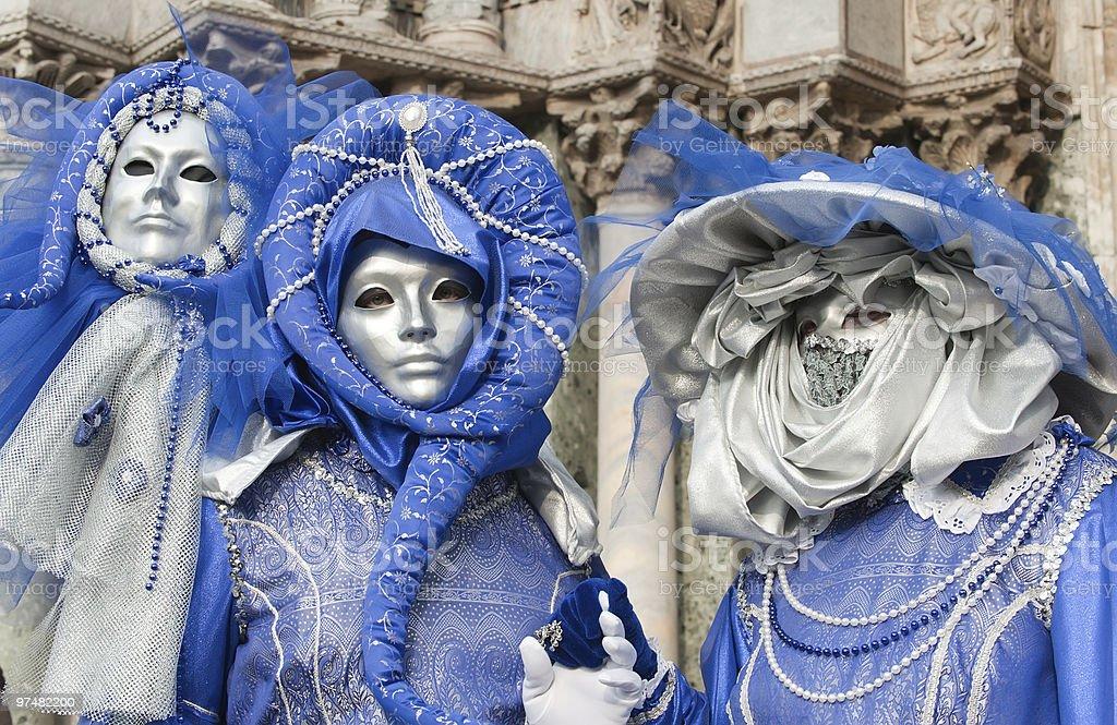 Carnival women royalty-free stock photo