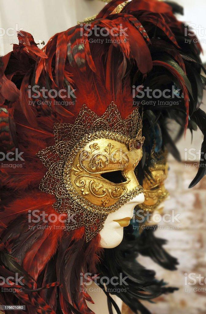 Carnivale Mask, Venice royalty-free stock photo