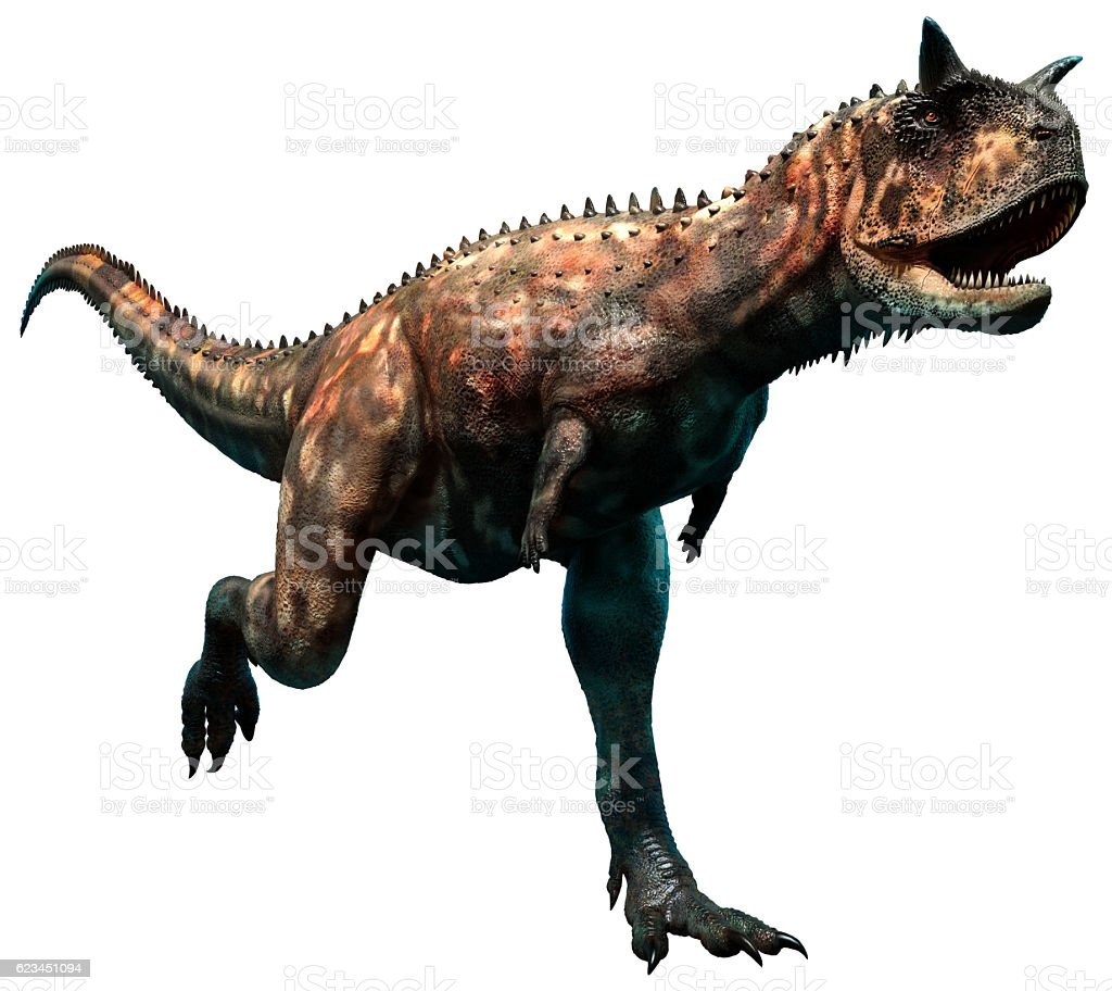 Carnotaurus stock photo