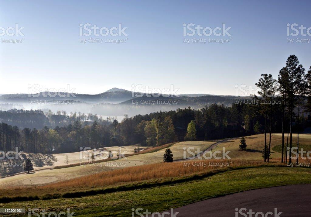 Carolina Sunrise stock photo