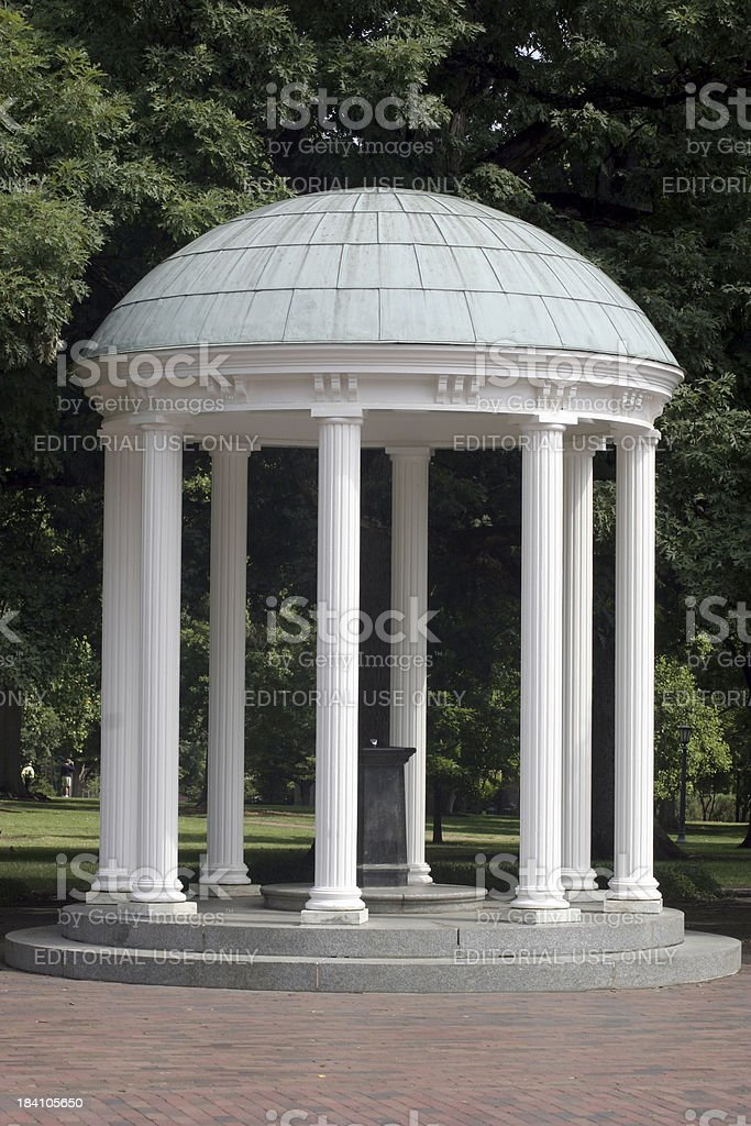 Carolina's Old Well stock photo