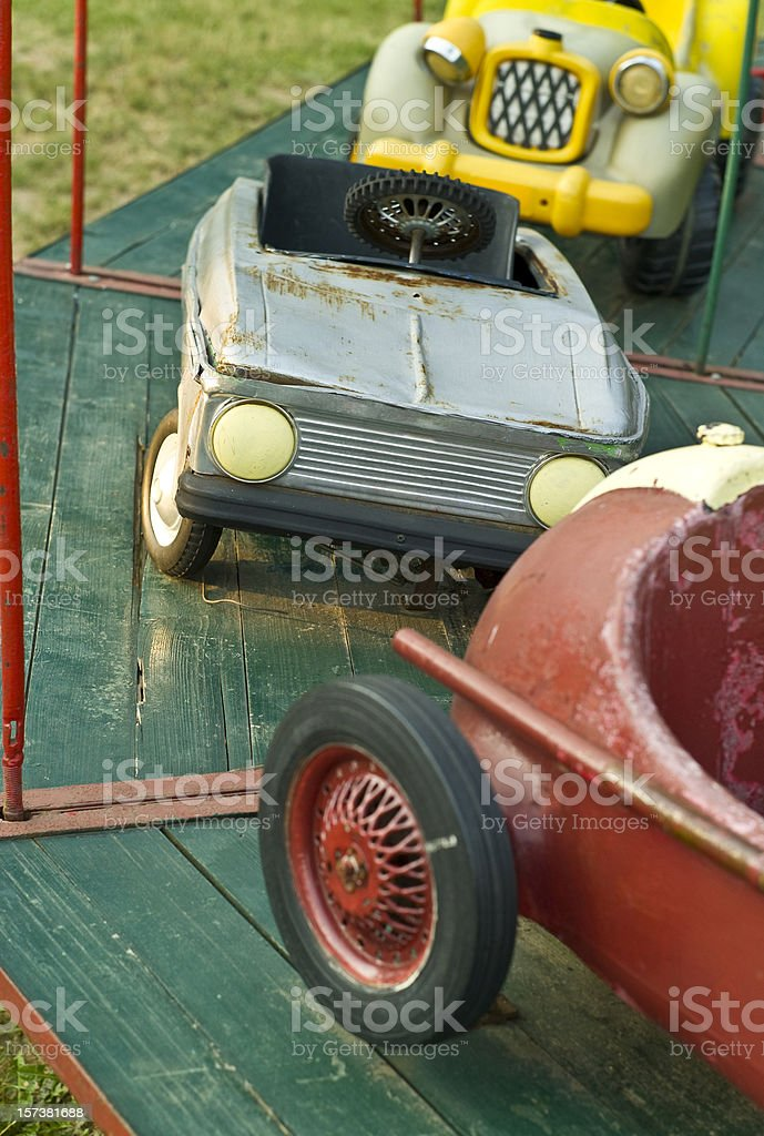 Carousel Cars royalty-free stock photo