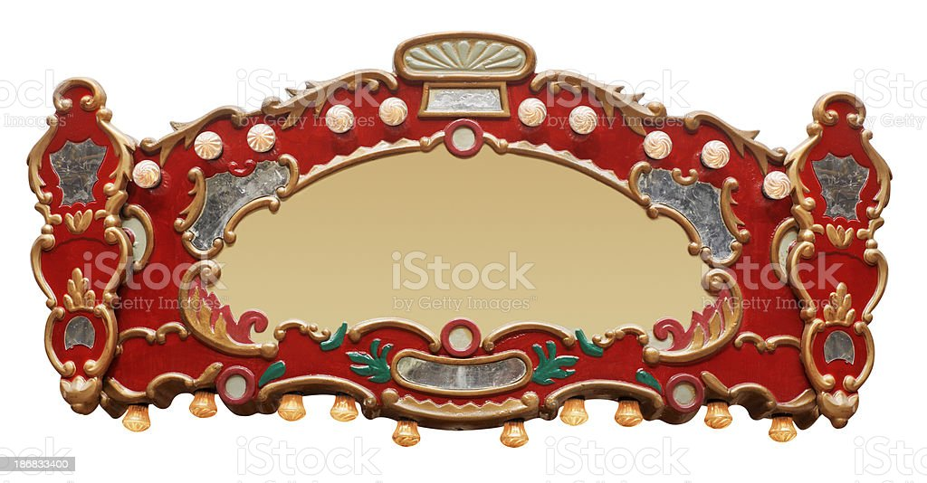 Carousel Detail royalty-free stock photo
