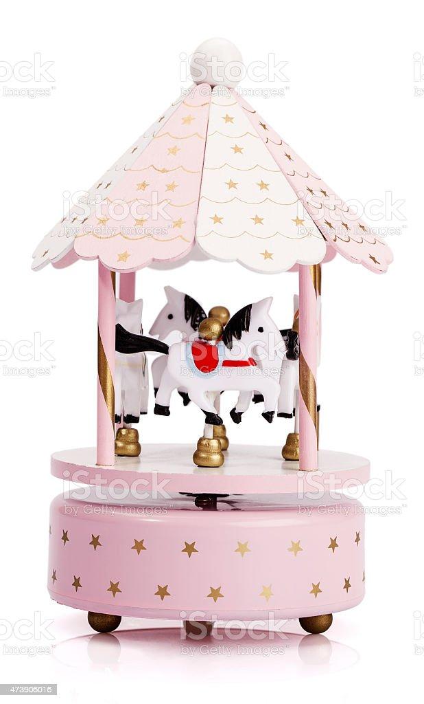 Carousel Horses Toy stock photo