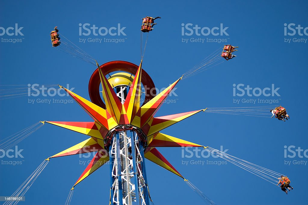 Carousel stock photo