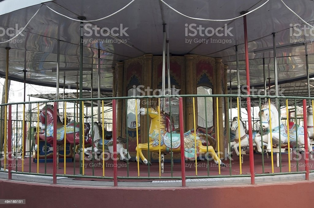 Carrousel royalty-free stock photo