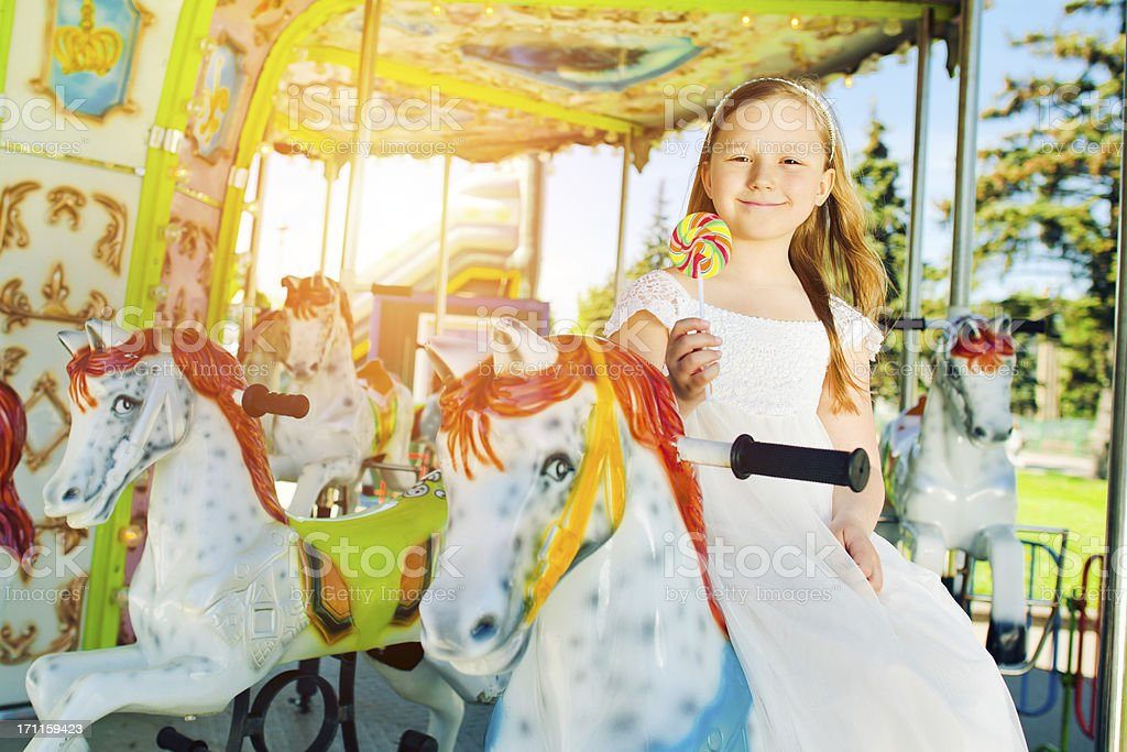 Carousel Ride royalty-free stock photo
