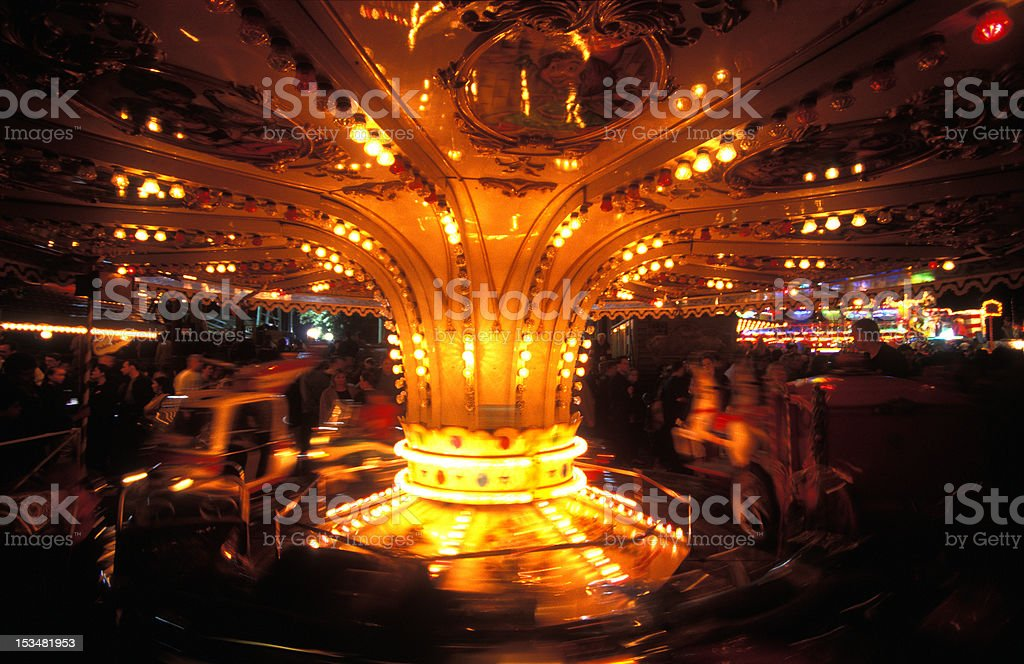 Carousel Spinning royalty-free stock photo