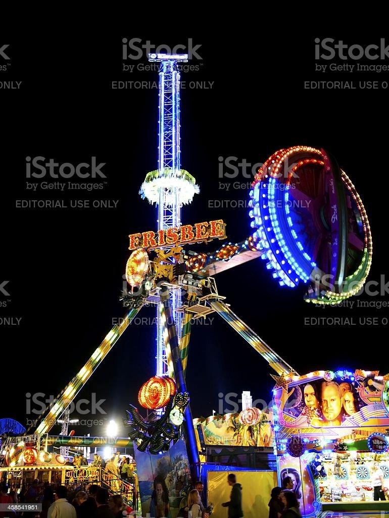 Carousell at Oktoberfest royalty-free stock photo