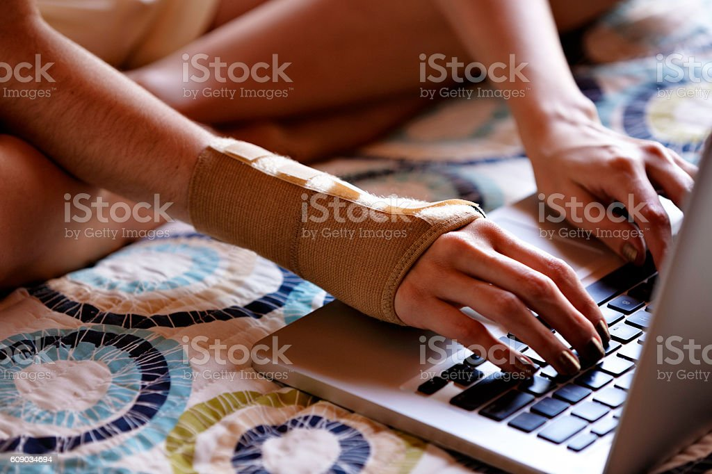 Carpal Tunnel Syndrome stock photo