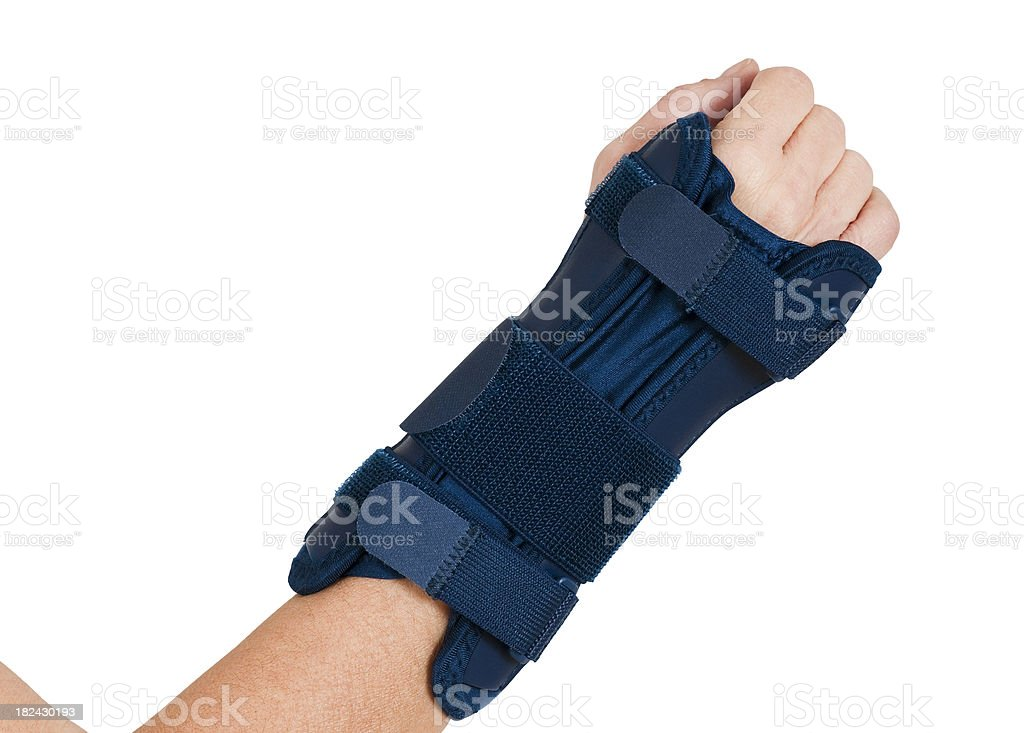 Carpal Tunnel Wrist Brace stock photo