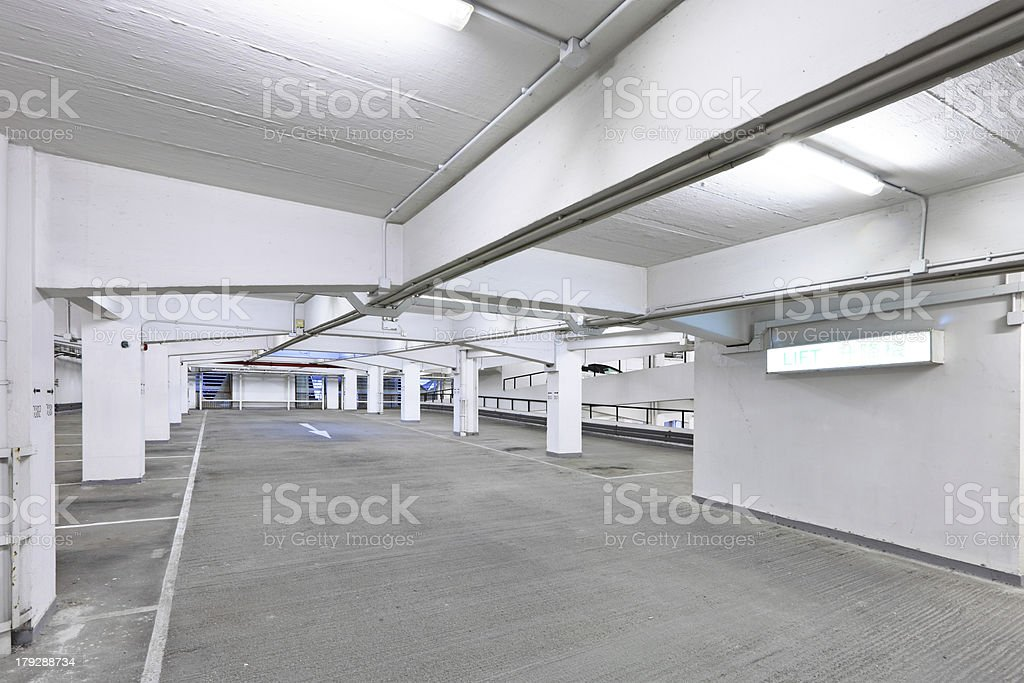 carpark royalty-free stock photo
