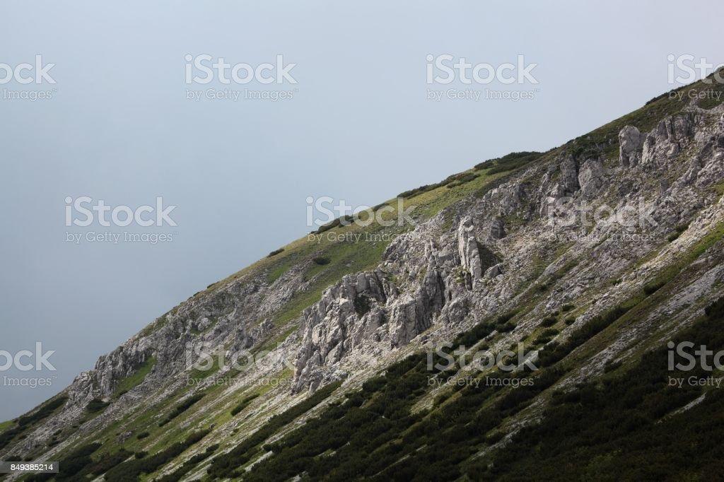 Carpathian Mountains in the High Tatra stock photo