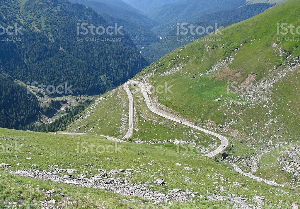 Carpathian mountains stock photo