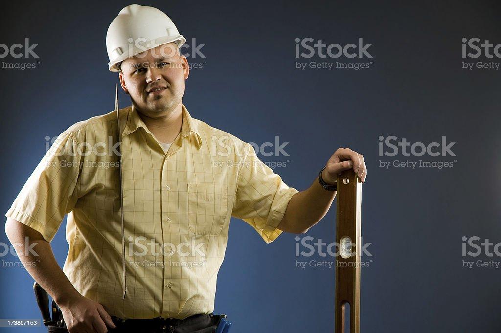 carpenter man royalty-free stock photo