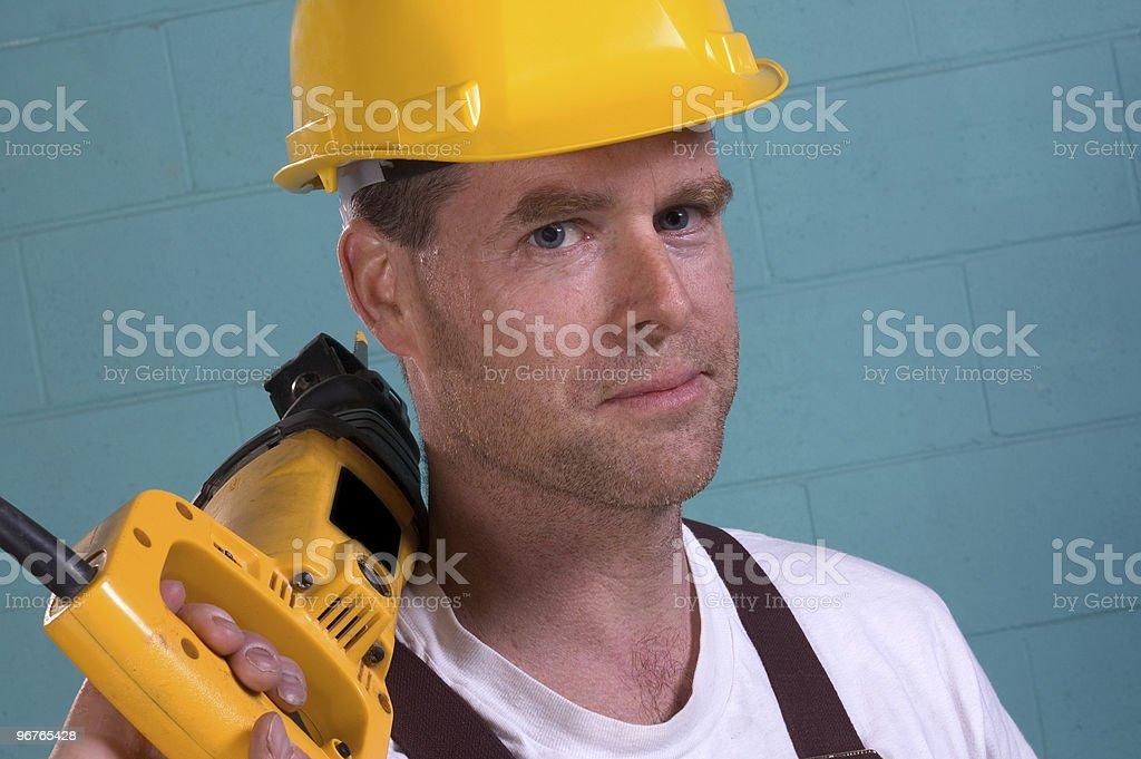 Carpenter royalty-free stock photo