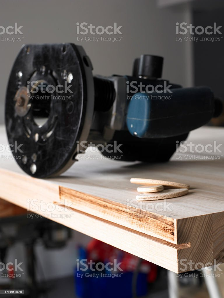 Carpenter Serie. stock photo