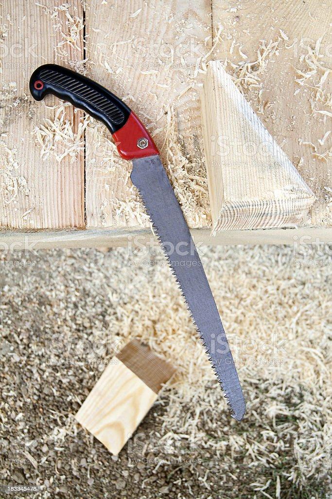 Carpenter works royalty-free stock photo