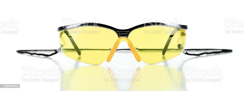 Carpenter Yellow Glasses royalty-free stock photo