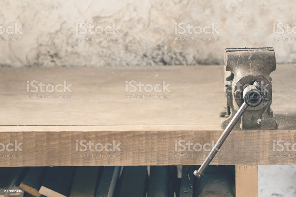 Carpenters 'office' stock photo