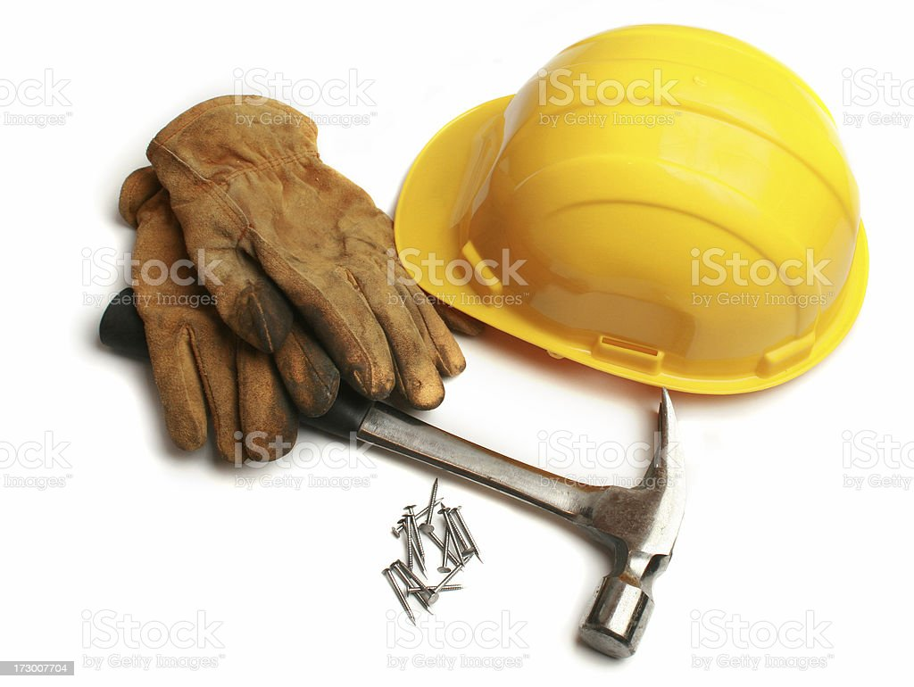 carpenters tools royalty-free stock photo