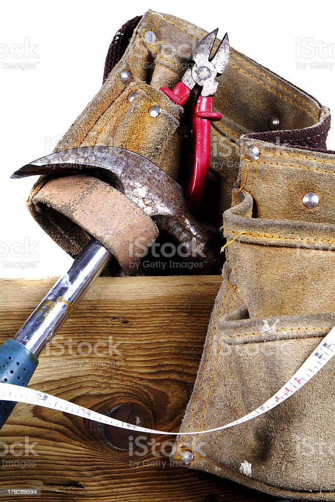 Carpenters tools royalty-free stock photo