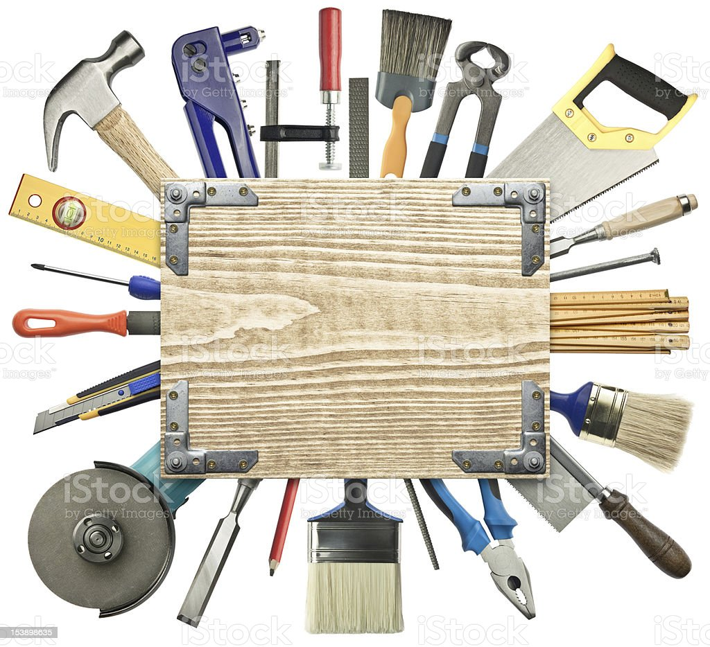 Carpentry background. royalty-free stock photo
