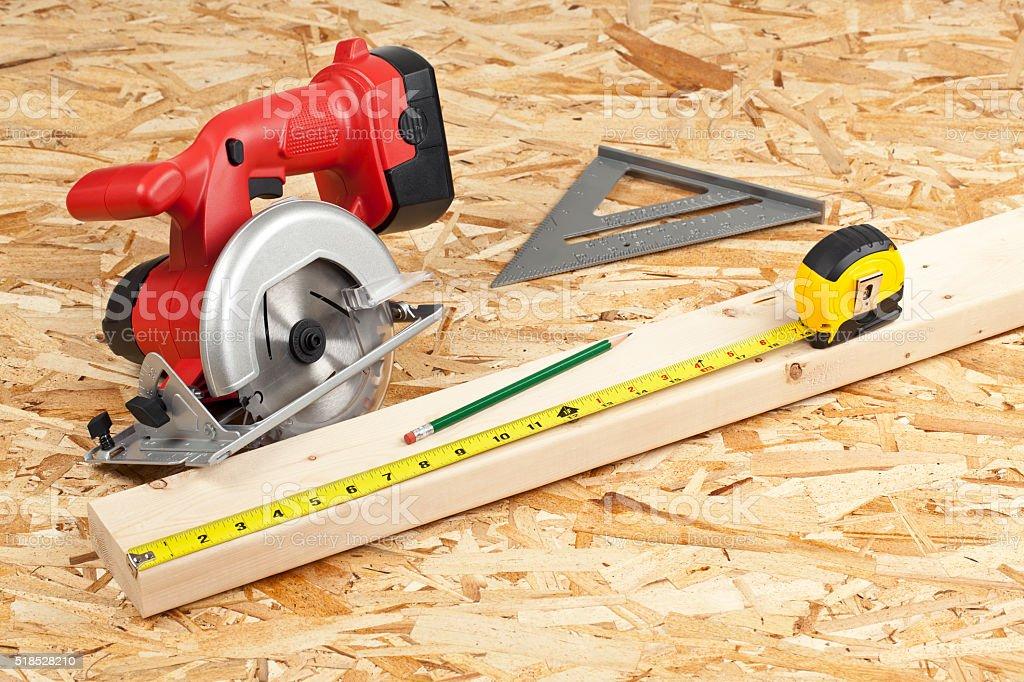 Carpentry Hand Tools stock photo