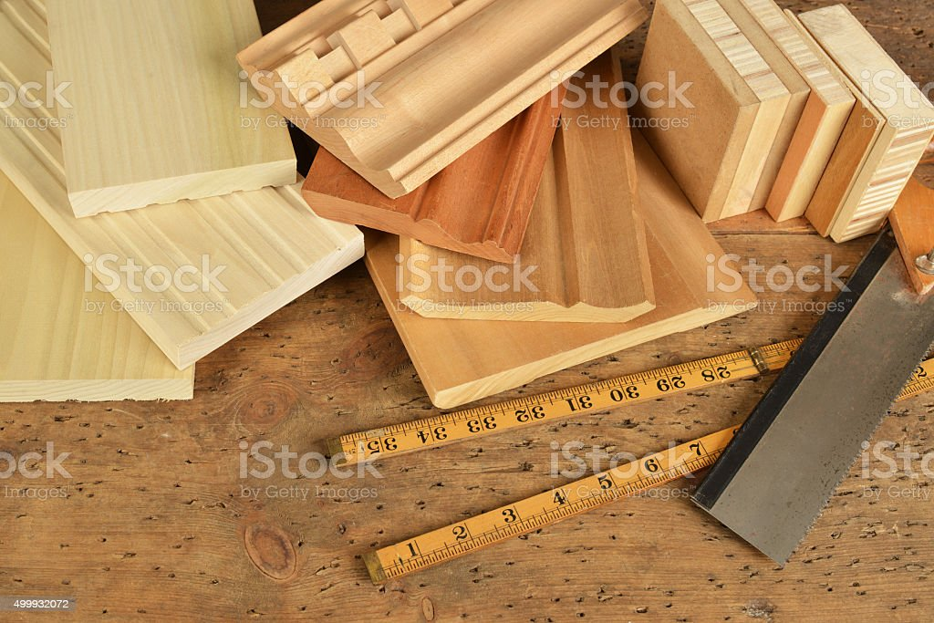 carpentry stock photo