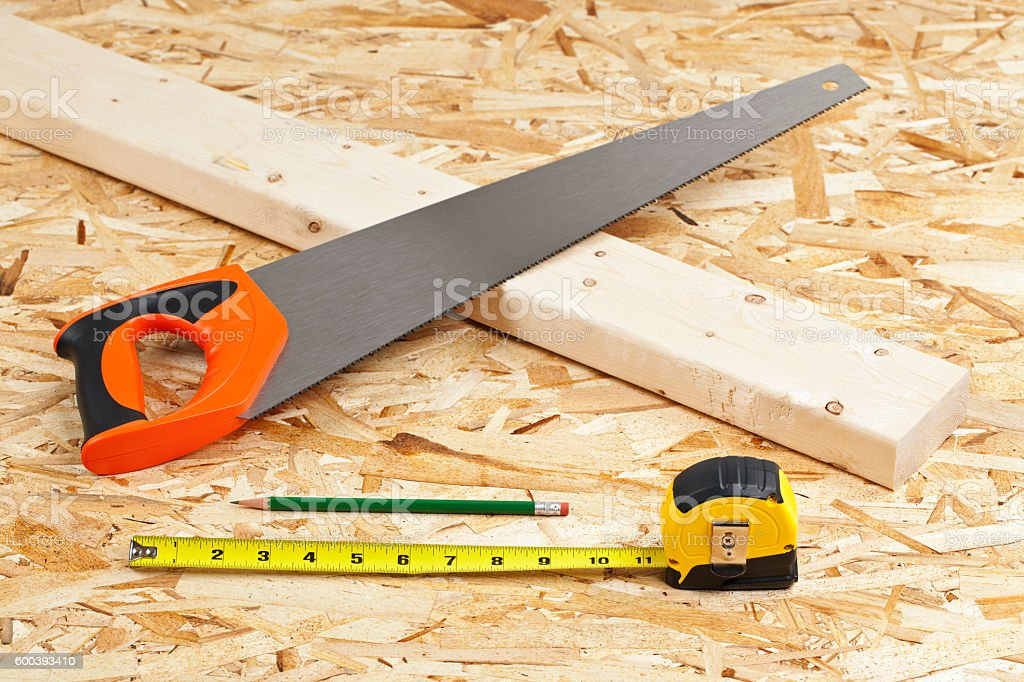 Carpentry Project stock photo