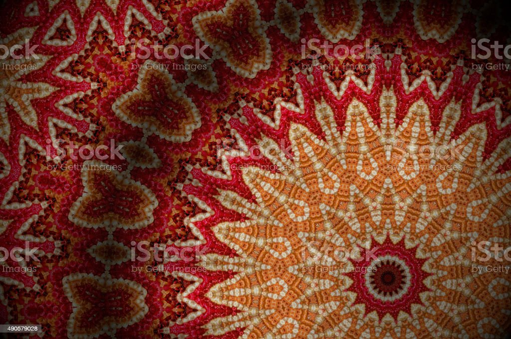carpet background or texture with stripes in many colors stock photo