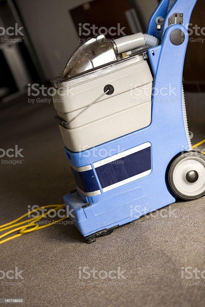 Carpet Cleaner Residential stock photo
