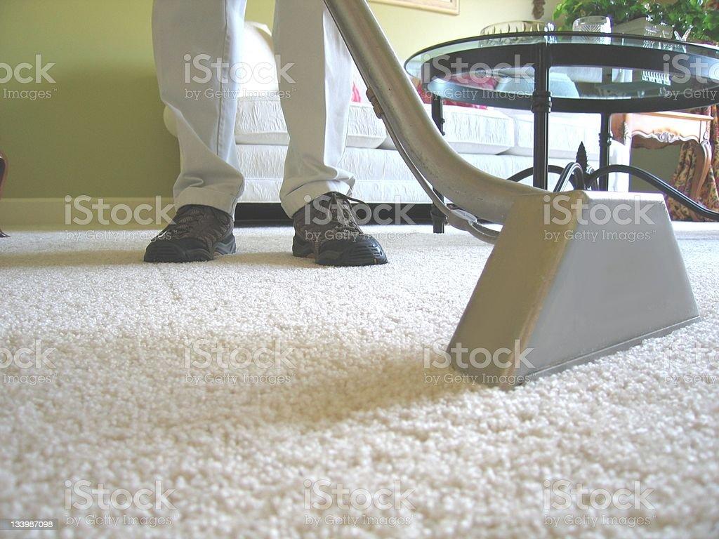 Carpet Cleaning Vacuum stock photo