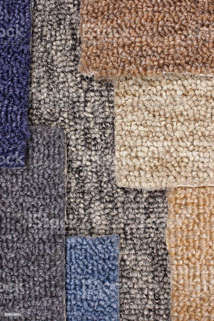 Carpet colors stock photo