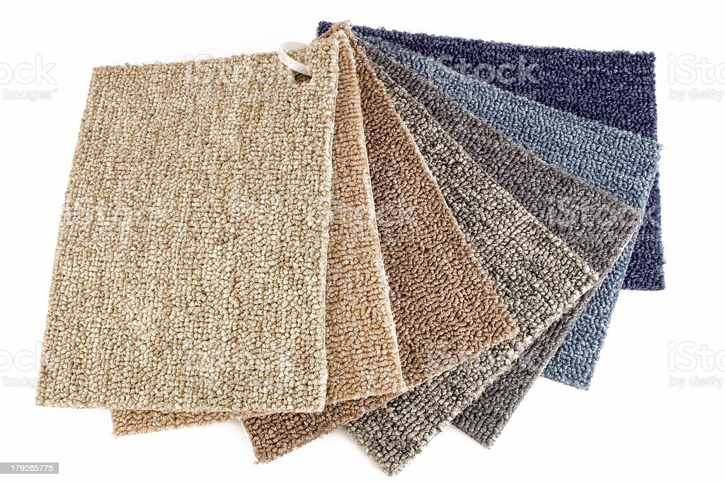 Carpet Guide stock photo