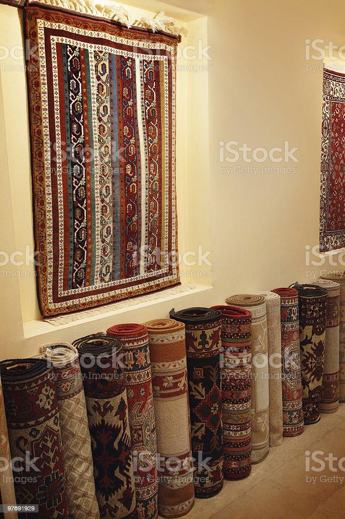Carpet manufacturing royalty-free stock photo