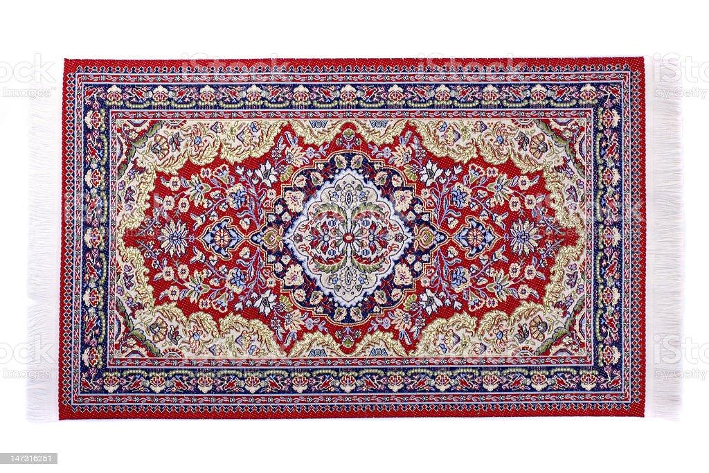Carpet. Miniature close up stock photo