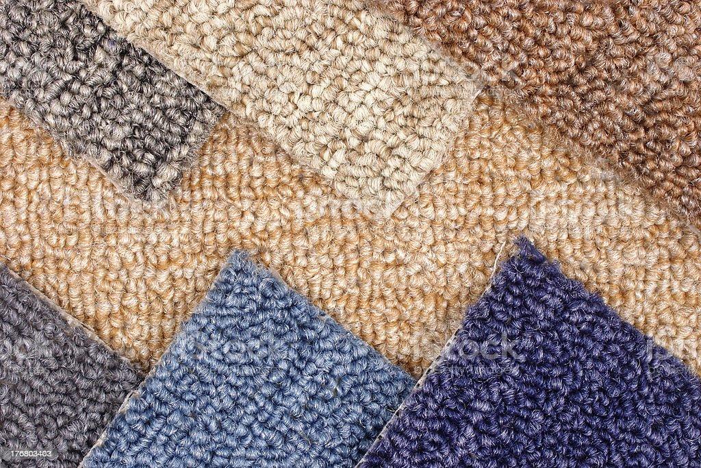 Carpet models royalty-free stock photo