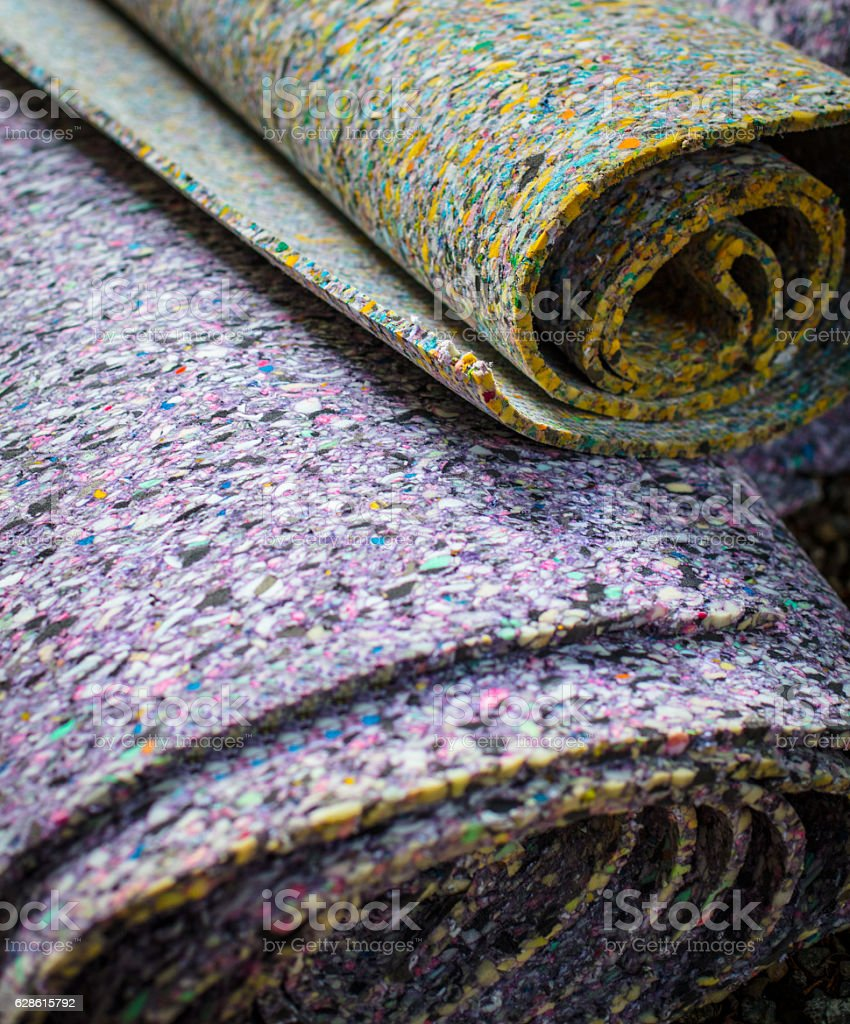Carpet Padding stock photo